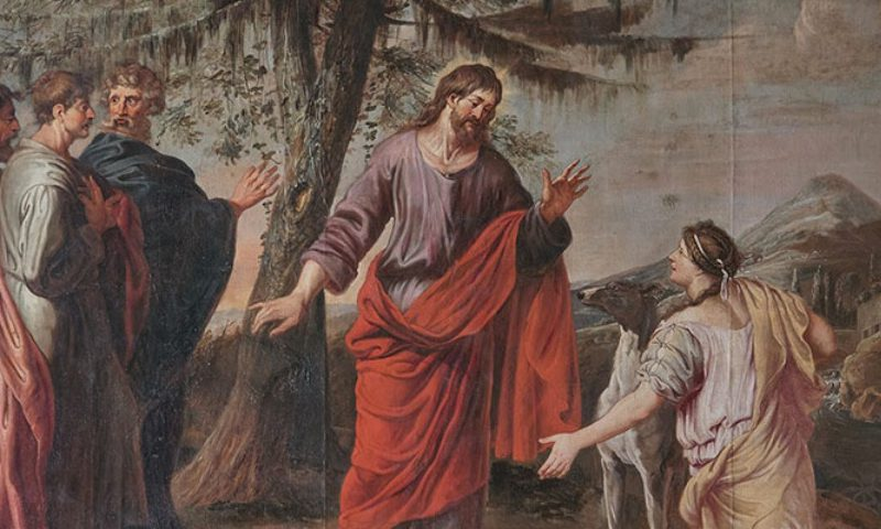 Jesus and the Canaanite woman