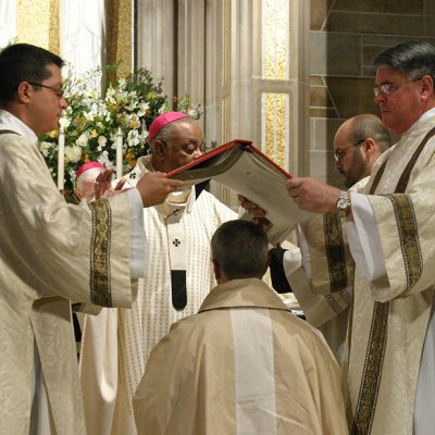 Holy Orders: Deacons and Bishops